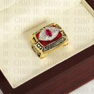 Team Logo wooden Case 1983 Washington Redskins NFC Football world Championship Ring 10-13 size