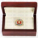 Team Logo wooden Case 1972 Washington Redskins NFC Football world Championship Ring 10-13 size
