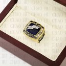 Team Logo wooden Case 1994 San Diego Chargers AFC Football world Championship Ring 10-13 size