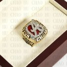 Team Logo wooden Case 2009 Alabama Crimson Tide NCAA Football National Championship Ring 10-13 size