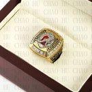 Team Logo wooden Case 2011 Alabama Crimson Tide NCAA Football National Championship Ring 10-13 size