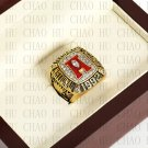 Team Logo wooden Case 1992 Alabama Crimson Tide NCAA Football National Championship Ring 10-13 size