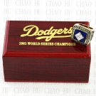 Team Logo wooden Case 1981 LOS ANGELES DODGERS world Series Championship Ring 10-13 size