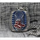 2013 Boston Red Sox MLB World Seires Championship Necklace with steel Chain 22-23 inches length