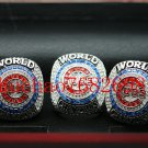 3 PLAYERS RINGS 2016 Chicago Cubs World Seires Championship Ring (Rizzo Bryant and Zobrist )+BOX