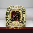 2017 Alabama Crimson Tide SEC COLLEAGUE National Championship Ring 7-15 Size
