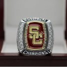 2009 USC University of Southern California championship ring 8-14 Size copper A high quality gift