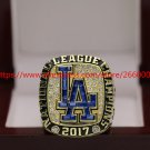 2017 Los Angeles Dodgers NL National League World Championship Ring 7-15 Size
