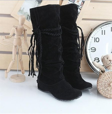 Mid Calf Boots Shoes
