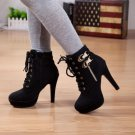 High Heel Winter Boots