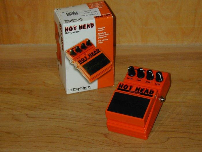 Digitech Hot Head Distortion EFX Pedal  www.tmscad.ecrater.com