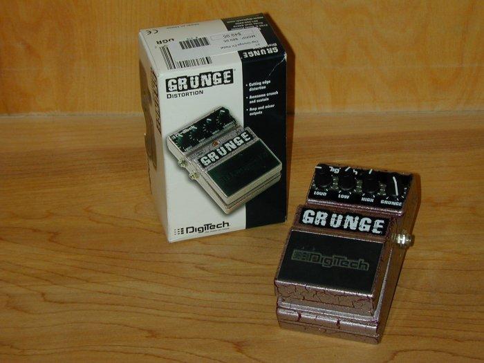 Digitech Grunge Distortion EFX Pedal  www.tmscad.ecrater.com