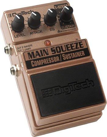 Digitech Main Squeeze Compressor/Sustainer EFX Pedal   www.tmscad.ecrater.com
