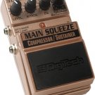 Digitech Main Squeeze Compressor/Sustainer EFX Pedal   www.tmscad.ecrater.com