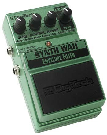 Digitech SynthWah Envelope Filter EFX Pedal  www.tmscad.ecrater.com