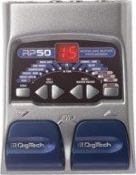 Digitech RP50 Guitar Modeling Processor w/ Power Supply   www.tmscad.ecrater.com