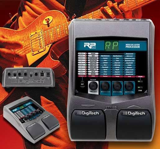 digitech Rp150 Guitar Modeling Processor w/ USB & Power Supply  www.tmscad.ecrater.com