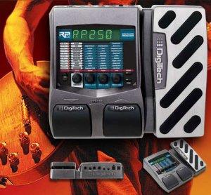 Digitech RP250 Guitar Model Processor w/ EXP Pedal, USB & Power Supply  www.tmscad.ecrater.com