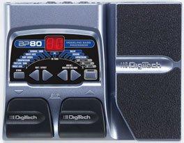 Digitech BP80 Bass Modeling Porcessor w/ EXP Pedal & Power Supply  www.tmscad.ecrater.com
