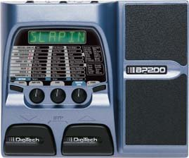 Digitech BP200 Bass Modeling Processor w/ EXP Pedal & Power Supply  www.tmscad.ecrater.com