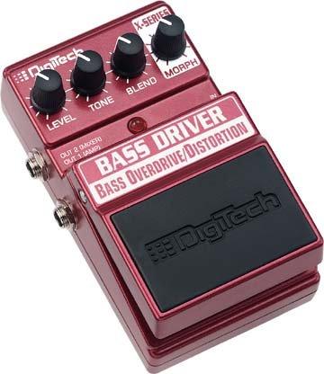 Digitech Bass Overdrive Overdrive/Distortion EFX Pedal   www.tmscad.ecrater.com