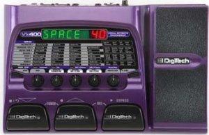 Digitech Vx400 Vocal EFX Processor w/ USB, Recording Software & Power Supply