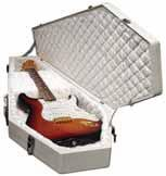 Coffin Case Limited White Edition Electric Bass Guitar Case Universal Fit  wwww.tmscad.ecrater.com