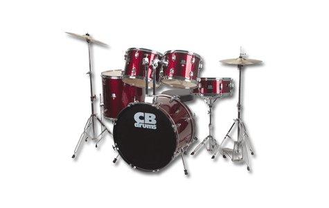 CB CB5 5 Piece Drum Set Remo Drum Heads FREE SHIPPING  www.tmscad.ecrater.com