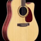 Takamine EF360SC Gloss Natural Dreadnought C/A Solid Spruce Top w/ Hardshell Case FREE SHIPPING