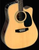 Takamine EG334SC Gloss Natural Dreadnought C/A Solid Top/Back N4B Pre Amp FREE SHIPPING