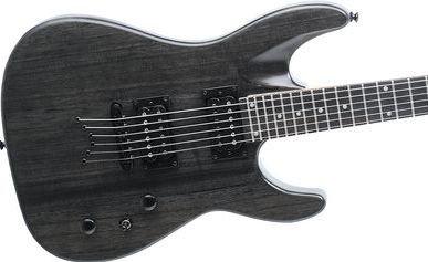 Dean Vendetta XM Electric Guitar Trans Black String Thru Body  www.tmscad.ecrater.com