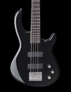 Dean Edge 1-5 String Bass Classis Black Soapbar Pickups 24 Fret  www.tmscad.ecrater.com