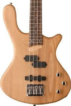 Washburn T14 Natural Satin Bass Guitar Maple Neck P&J Pickups  www.tmscad.ecrater.com