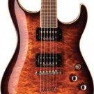 Washburn X50PROQCG Quilted Maple Cognac w/Case FREE SHIP String Thru Body www.tmscad.ecrater.com
