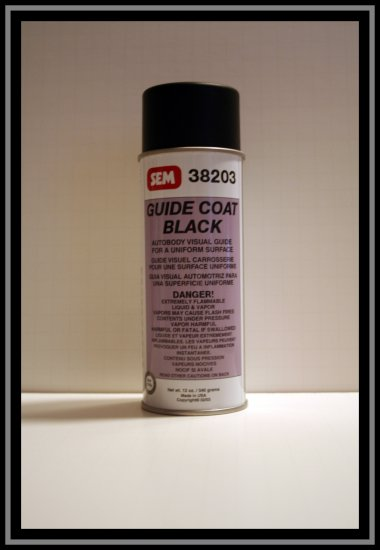 SEM Guide Coat Black- 38203