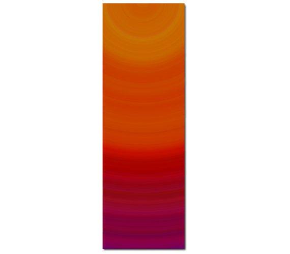 The Energy Printed Yoga Mat Thick 5 mm 24 x 72 Pilates Decor Rug Gift Fitness Exercise Meditation