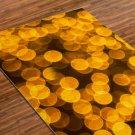 Goldis Printed Yoga Mat Thick 5 mm 24 x 72 Pilates Rug Meditation Gold Bridesmaids Gift Bedside