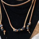 leather wrap chokers
