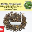 1 Lb / 454g Chaff-flower Prickly Chaff Flower Devil's Horsewhip Burweed Achyranthes Aspera