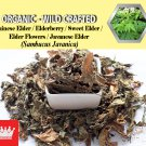 8 Oz / 227g Chinese Elder Leaves Elderberry Sweet Elder Javanese Elder Sambucus Javanica
