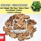 8 Oz / 227g Greater Galangal Siamese Ginger Java Galangal Alpinia Galanga Organic Wild Fresh