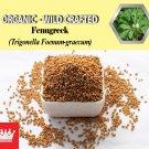 8 Oz / 227g Fenugreek Seeds Trigonella Foenum-graecum Organic Wild Crafted 100% Fresh
