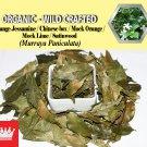 8 Oz / 227g Orange Jessamine Chinese Box Mock Orange Murraya Paniculata Organic Wild Crafted