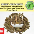 3 Oz / 84g Kassod Tree Leaves Siamese Senna Siamese Cassia Cassia Siamea Organic Wild Fresh