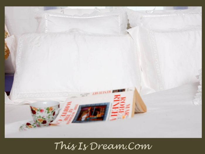JASMINE - Personalized Bedsheet set - King, Queen size
