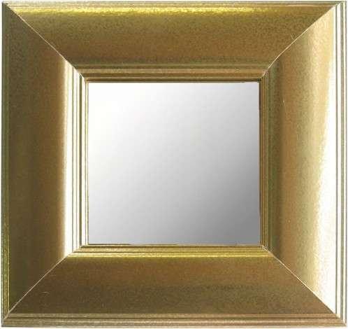 Mirror Dynamics Metallic Gold Finish Mirrors- Set of 3