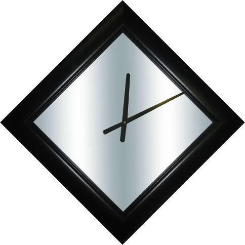 Mirror Dynamics Black Diamond Mirror Clock