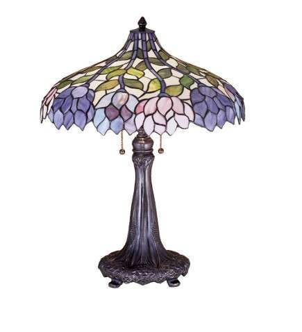 Meyda Tiffany Wisteria Table Lamp
