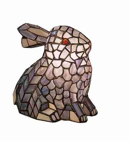 Meyda Tiffany Rabbit Gray