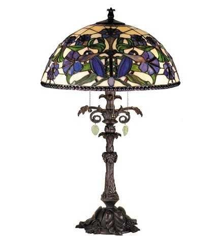 Meyda Tiffany Nouveau Lily Table Lamp
